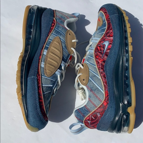 outlet store 8d7c8 bed6d Rare Nike Air Max 98 Wild West Sneaker NWT Sz 9.5